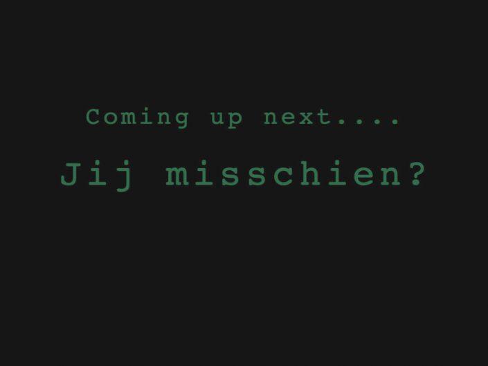 Coming up next…
